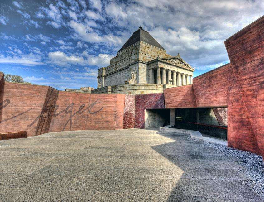 Building - Shrine of Remembrance