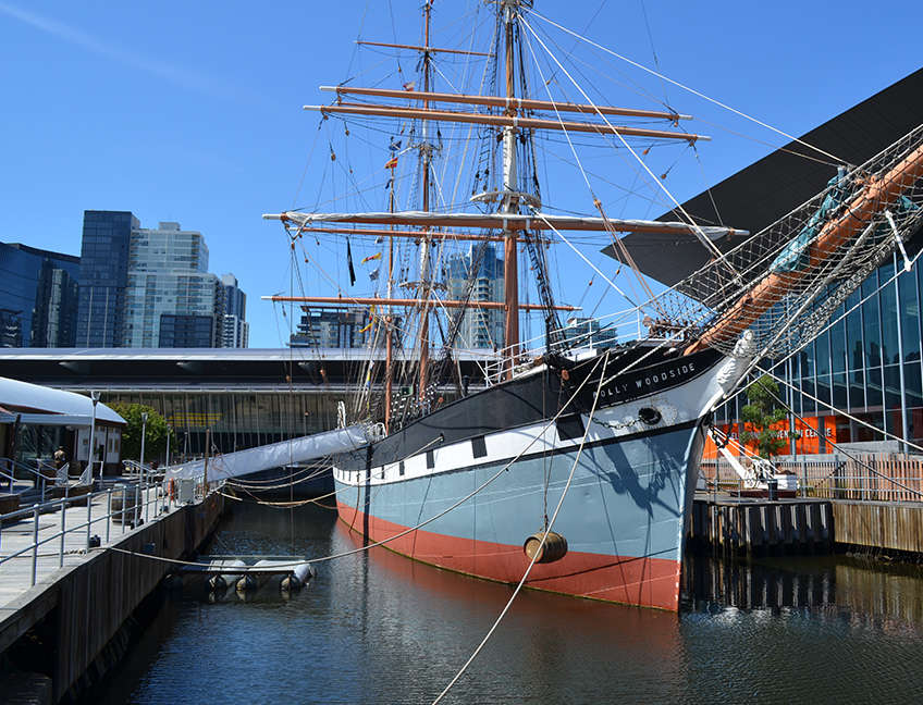 Building - Polly Woodside - Melbourne's Tall Ship Story