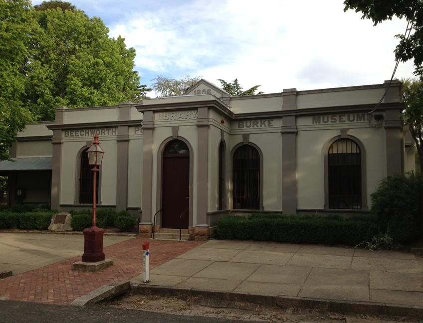 Building - Burke Museum, Beechworth