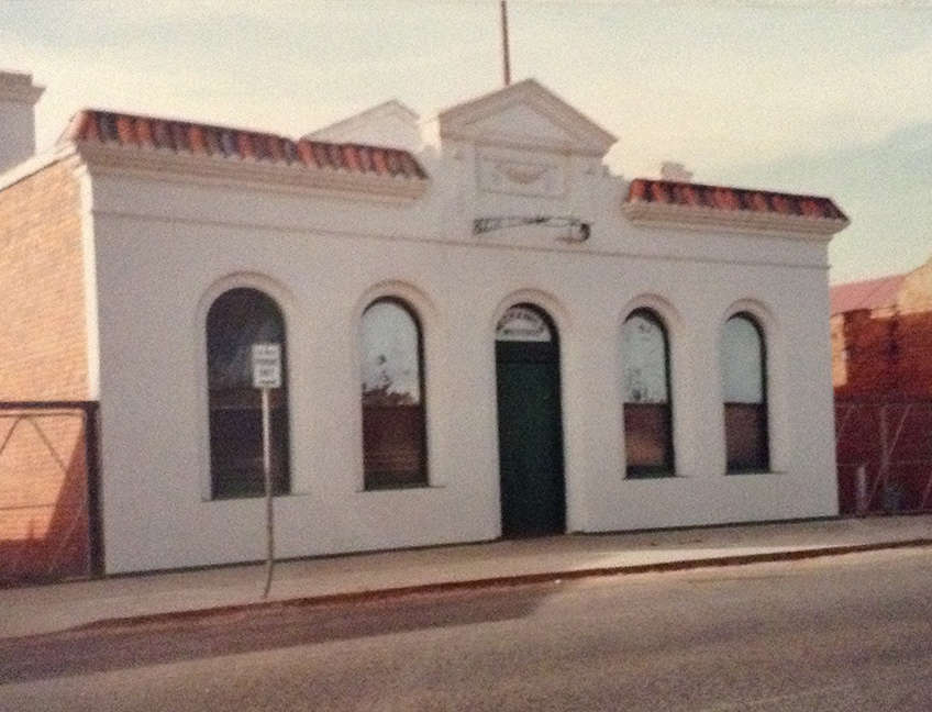 Building - Nagambie & District Historical Society