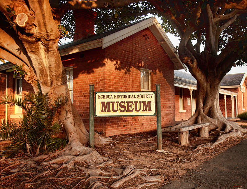 Building - Echuca Historical Society
