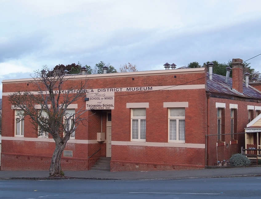 Building - Daylesford & District Historical Society and Museum