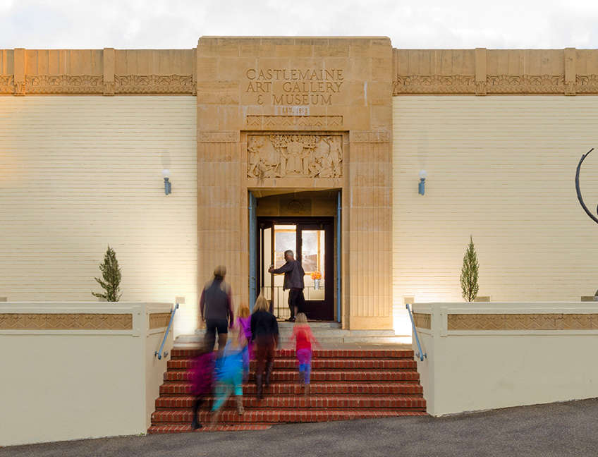 Building - Castlemaine Art Gallery & Historical Museum