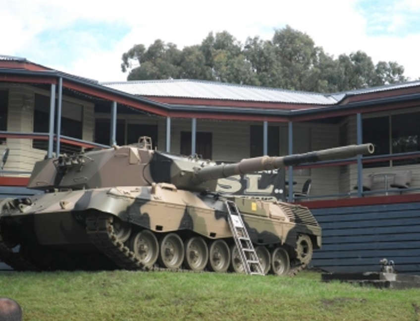 Building - Running Rabbits Military Museum operated by the Upwey Belgrave RSL Sub Branch